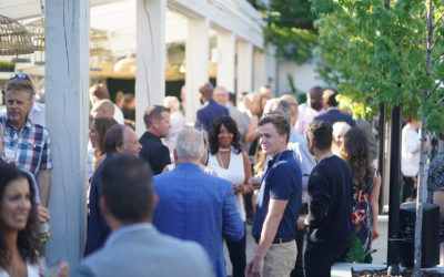 Centre Leasehold Improvements celebrates its 50th Anniversary with colleagues, friends, and family.